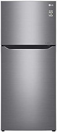 LG 400 Liters Top Mount Refrigerator, Dark Graphite - GN-B402SLCB