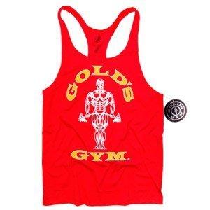 "Camiseta Gold Gym Tirantes Roja Talla ""L"""
