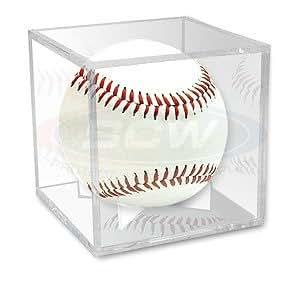 Balle de cricket, balle de tennis de baseball ou vitrine Lot de 3