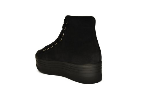JEFFREY CAMPBELL EPLAY HOMG SUEDE WASH Nero