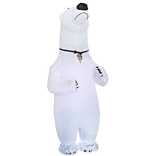 Eisbär Kostüm Aufblasbar - Bangxiu-festival Aufblasbare Kostüme Halloween Cosplay Kostüme
