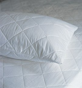 The House of Emily One Pair of Luxury Super King Size Quilted Pillow Protectors