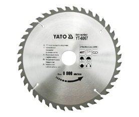 Preisvergleich Produktbild Yato yt-6067–Hartmetall-Kreissägeblatt 210x 40x 30mm