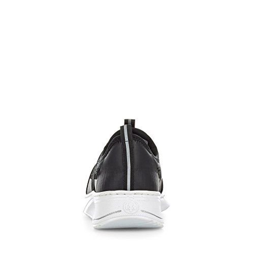 Rieker N5050, Sneaker Infilare Donna Nero (Schwarz/schwarz/schwarz)