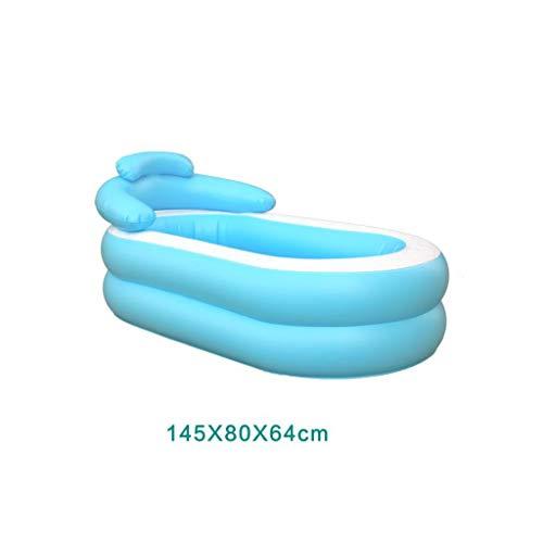 Relaxbx Aufblasbare Badewanne Erwachsene Badefässer Kinderbäder Badefässer Faltbadewanne