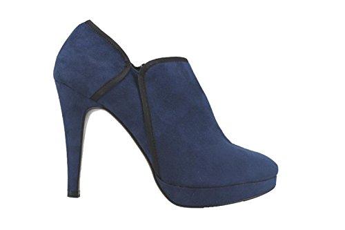 BIBI LOU tronchetti donna camoscio blu / grigio (40 EU, Blu)