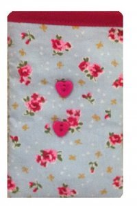 Cute Blue Vintage Flowers Print Apple iPhone 6s Plus sock / Case / Cover / Pouch