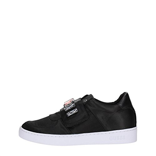 Guess FLFLO1-SAT12 Sneakers Donna Tessuto BLACK BLACK 36