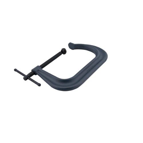 Wilton 143754406, 4400Serie geschmiedet c-clamp-extra deep-throat, regular-duty, 0-inch-6-inch Kiefer Öffnung, 12,7cm Einlegetiefe - Wilton C-clamp