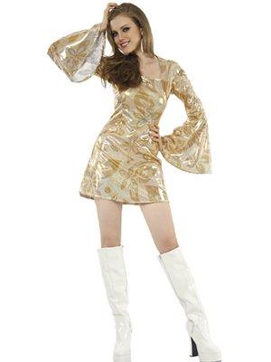 Boland 87378 - Kostüm Disco Diva, Einheitsgröße 36-42