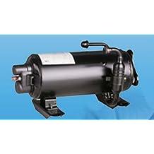 Partes GOWE HVAC horizontal giratorio compresor para caravana recreación vehículo Aire Acondicionado