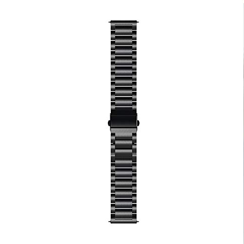 Akaddy Replacement Stainless Steel Band Watch Strap for Samsung Galaxy 42mm fit Sport Casual Business Wearing