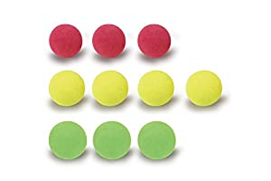 Jamara 460314 Jamara 460314 - Paquete de Recambio 10 Softball En Bolsa Plástico - Compatible Con Mc Fizz Fizzy Bal, Carbón
