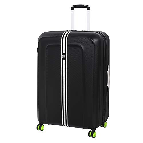 it luggage Jupiter 8 Wheel Large Spinner Expandable Hard Case Koffer, 79 cm, 157 liters, Schwarz (Black)