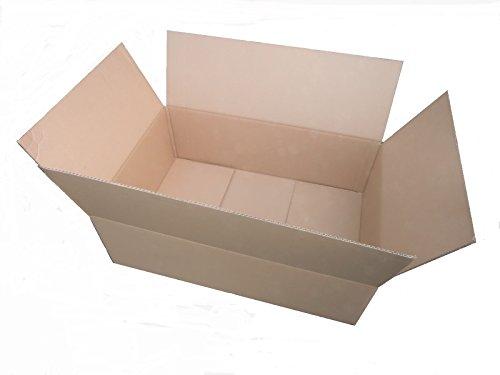 25x Versandkarton 600 x 400 x 200 * 60x40x20 * Karton Faltkarton Kartonage 600x400x200