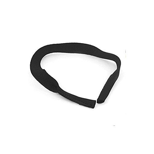 Brillen/Sonnenbrillen Neopren Stretchy Sports Umhängeband - Schwarz