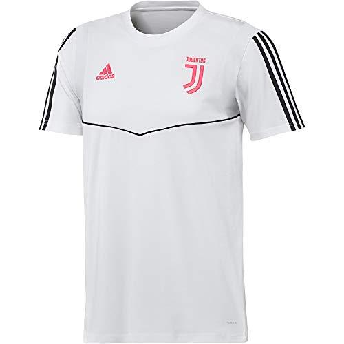 adidas Juventus Tee, Maglietta da Calcio A Maniche Corte Uomo, Nero/Dkgrey, XL