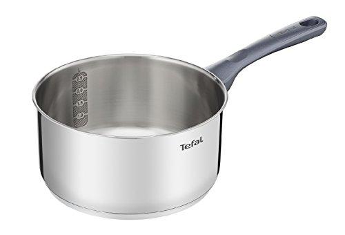 Tefal Daily Cook - Cazo de 18 cm, Acero inoxidable, para todo tipo de cocinas incluido inducción