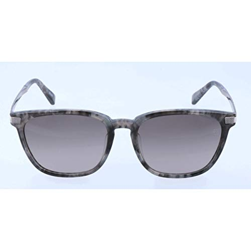 Ermenegildo Zegna Herren EZ0039-F Sonnenbrille, Grau, 55