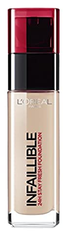 L'Oréal 24H Infallible Foundation 125 Natural Rose 30ml