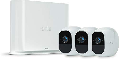 31L2ARMhQ-L [Bon Arlo !  Arlo Pro 2 - Smart caméra de surveillance, paquet de 3, 1080p HD jour/nuit, grand angle 100% Sans Fils - VMS4330P-1...