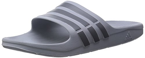 adidas , Duramo Slide, Unisex-Erwachsene Dusch & Badeschuhe, Grau (Clear Onix/Grey/Clear Onix), 43 EU (9 UK)
