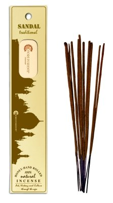 sandal-traditional-natural-incense-10sticks-honey-hand-rolled-fiore-doriente