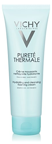 Vichy Purete Thermale Hydrating And Cleansing Foaming Cream - For Sensitive Skin 125ml