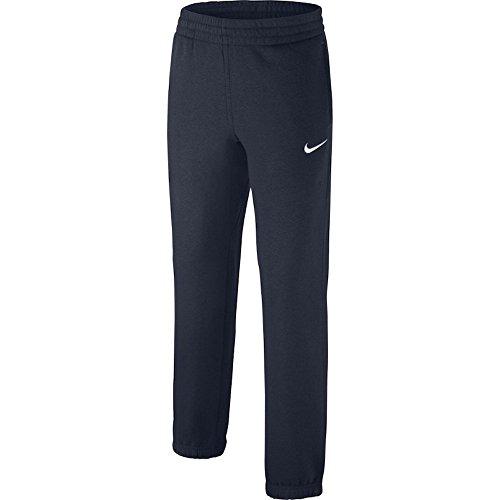 Nike Jungen Hose Brushed-Fleece Cuffed, Obsidian/White/White, XL, 619089-451 (Fleece-laufhosen)