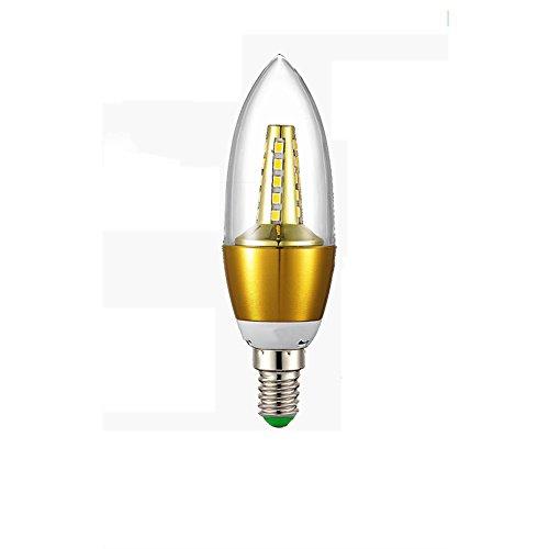 Preisvergleich Produktbild OOFAY Bulbs Light@ E14 Kerze LED Lampe Für Kronleuchter E14 Glühfaden Retrofit Classic 5W 450 Lumen Ersetzt 50 Watt 3500K Warmweiß Filament Fadenlampe Nicht Dimmbar, 5Er Pack,A