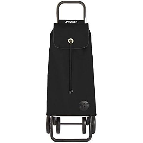 Rolser IMX005 - Carro de compra, color negro