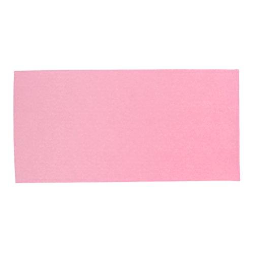 ender Reparatur Aufkleber Flicken - aus Polyester für Bekleidung - Rosa ()