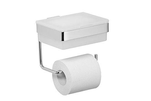 Avenarius Feuchttücherbox mit WC Rollenhalter - Feuchttuchbox mit Toilettenpapierhalter