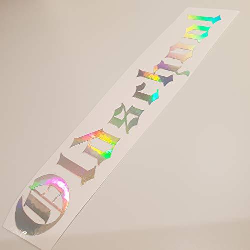 folien-zentrum Oldschool Metallic Effekt Hologramm Oilslick Rainbow Flip Flop Shocker Hand Auto Aufkleber JDM Tuning OEM Dub Decal Stickerbomb Bombing Sticker Illest Dapper Fun Oldschool