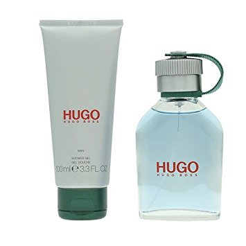 Hugo Boss Set for Men contains Eau de Toilette Spray 75 ml and Showergel 100 ml