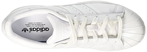 adidas Damen Superstar Metal Toe Sneaker Weiß (Footwear White/footwear White/core Black)