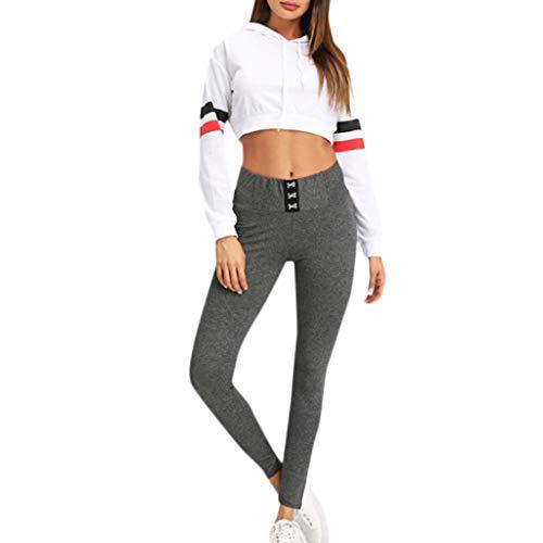 Berimaterry Mujer Pantalones Largos Deportivos Patrón
