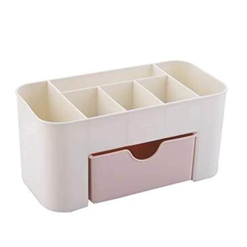 Sammlung Mit Sechs Schubladen (Plain Color Plastic Desktop Kosmetik-Etui mit kleinen Schubladen Aufbewahrungsbox Home Multifunktions-Schmuck-Box Aufbewahrungsbox)