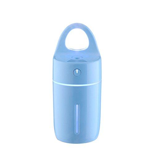 LUFA Humidificador mágico de la taza 175ML con la luz llevada colorida para la oficina del coche casera mini purificador del difusor del aroma del USB