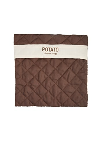 "KitchenCraft Microwave Cooking Potato Baker Bag, 28 x 28 cm (11"" x 11"") - Brown"