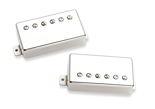 Seymour Duncan Pearly Gates Set Nickel Cover - (Cover Nickel Duncan Seymour)