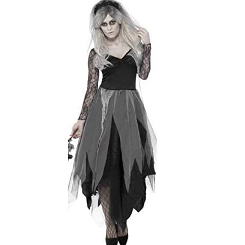 MAIMOMO Baby Dolls & Negligees Für Damenhalloween Costumes_European Und American Adult Halloween Kostüme Dark Bride Ball Uniform, Farbe, One Size