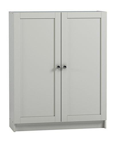 Preisvergleich Produktbild Steens Anette Türen Set,  79 x 92 x 1 cm (B / H / T),  MDF,  Weiß