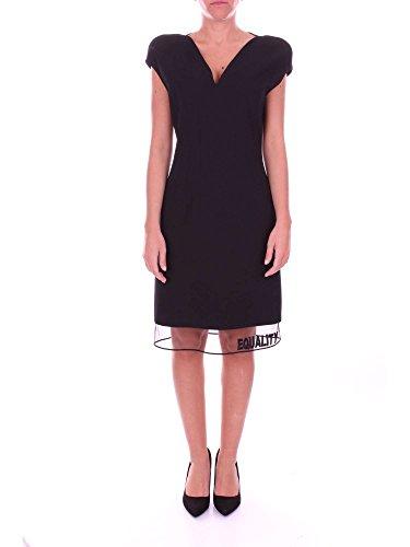 Versace A78577A223417 Kurzes Kleid Damen schwarz 40