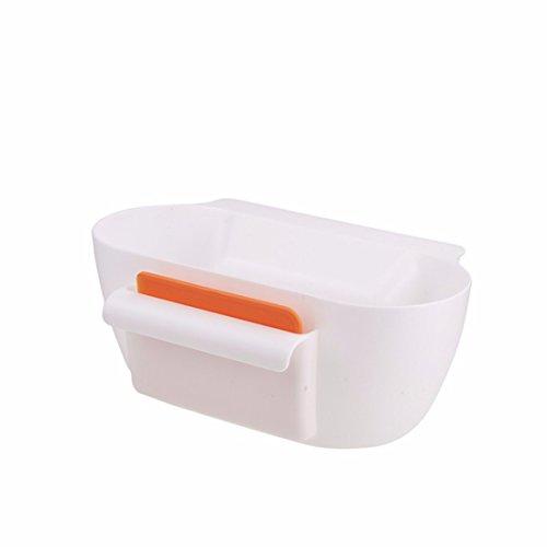 Schlafzimmer Schrank Organisatoren (Küche Schrank zum Aufhängen Speisen, Garbage Papierkorb Trash Aufbewahrungsbox Organisatoren Garbage Halterung weiß)