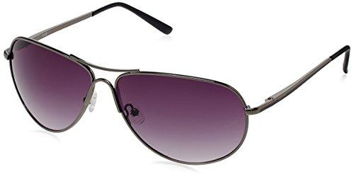 Fastrack Aviator Sunglasses (Gunmetal) (M050BK9) image
