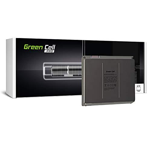 Green Cell® A1175 PRO Serie Laptop Akku für Apple MacBook Pro 15 A1150 A1211 A1226 A1260 2006-2008 (Li-Polymer ATL Zellen 60Wh 10.8V Silber) - Pro Series Akku