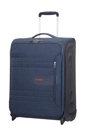 American Tourister Sonicsurfer - Upright 55/20 Equipaje de Mano, 55 cm, 43 Liters, Azul (Midnight Navy)