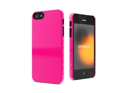 Cygnett CYGCY0832CPAEG AeroGrip Form PC Hard Case für Apple iPhone 5 weiß rose