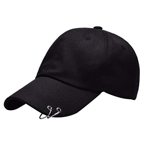 Nicorall BTS Baseball Kappen Mode Cap Hut Unisex Damen Herren Stickerei Ringe Baseball Cap KPop Hip Hop Bangtan Männer Casual Einstellbare Trucker Hat - Mode-hut